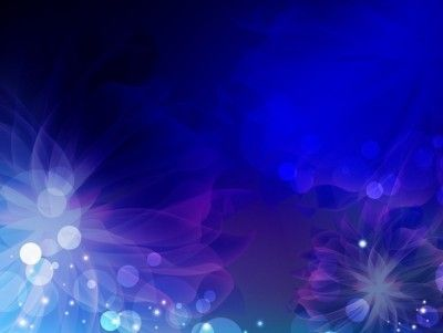 Dark Blue Floral Theme PowerPoint backgrounds in 2019