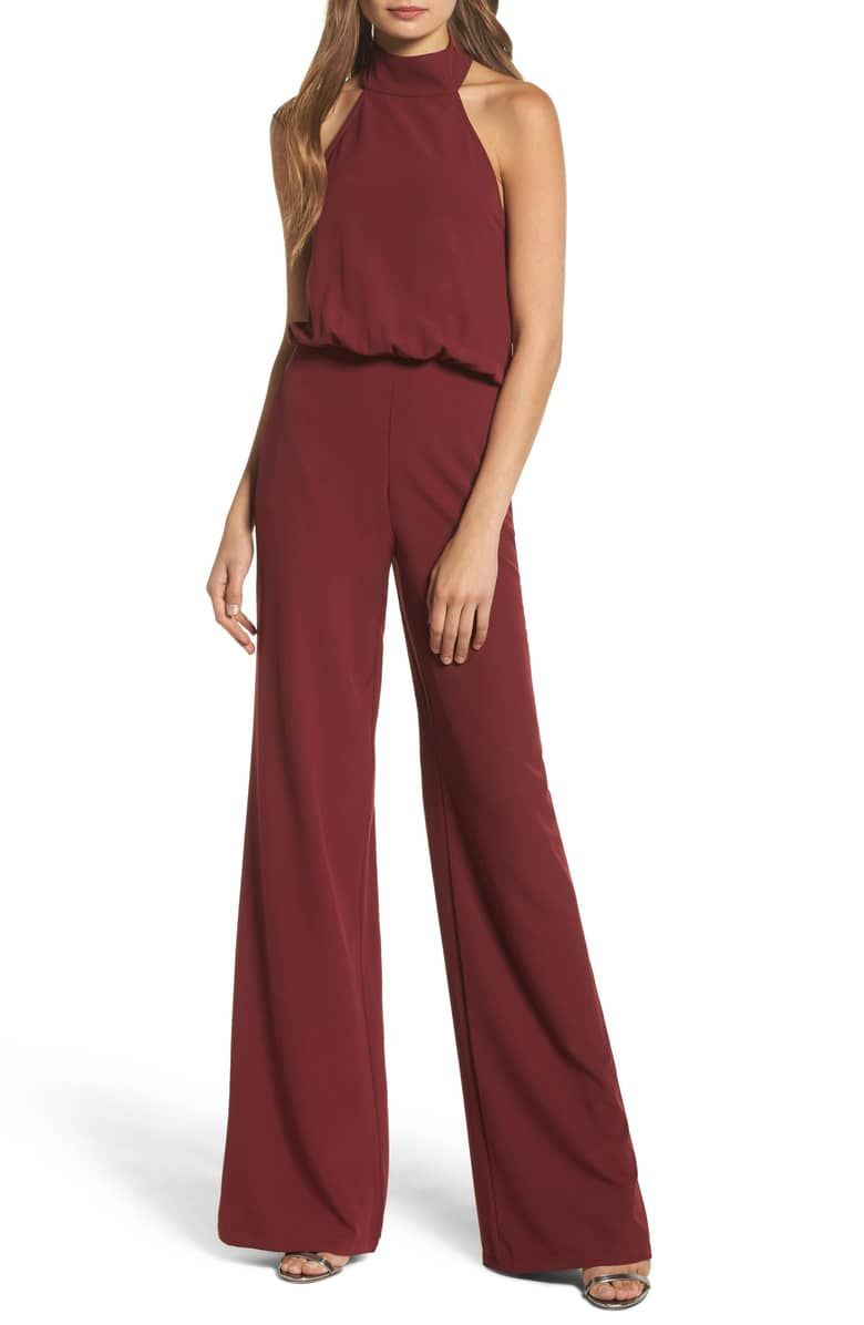 Lulus Moment For Life Halter Jumpsuit Nordstrom Jumpsuit Fashion Jumpsuits For Women Halter Jumpsuit
