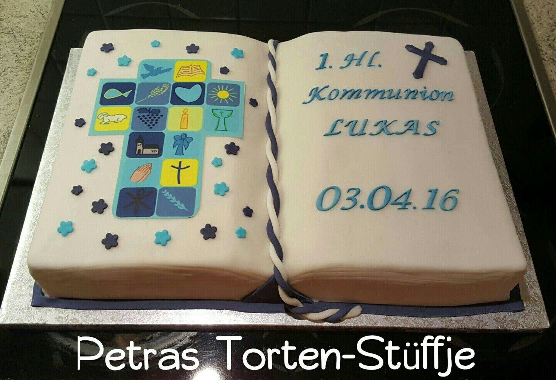 Kommuniontorte Buch Kuchenklatsch Bad Neuenahr Pinterest