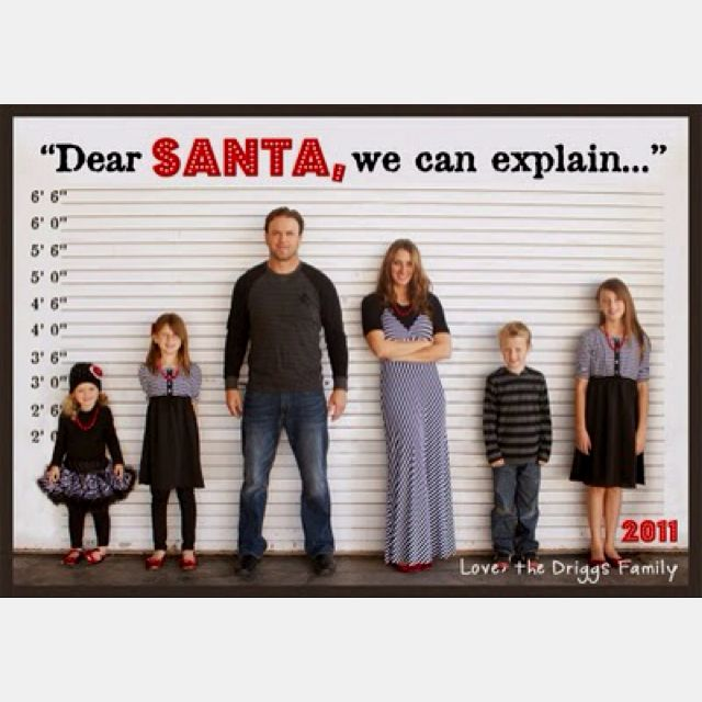 Hilarious Christmas Card-lol So Doing This With My Kids