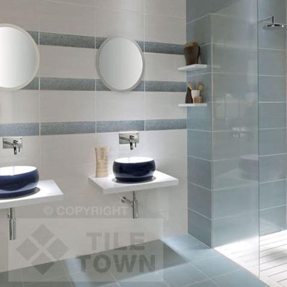Fox BlancoAzul Bathroom Wall Tiles By Keraben Tile Factory - Discounted tile factory