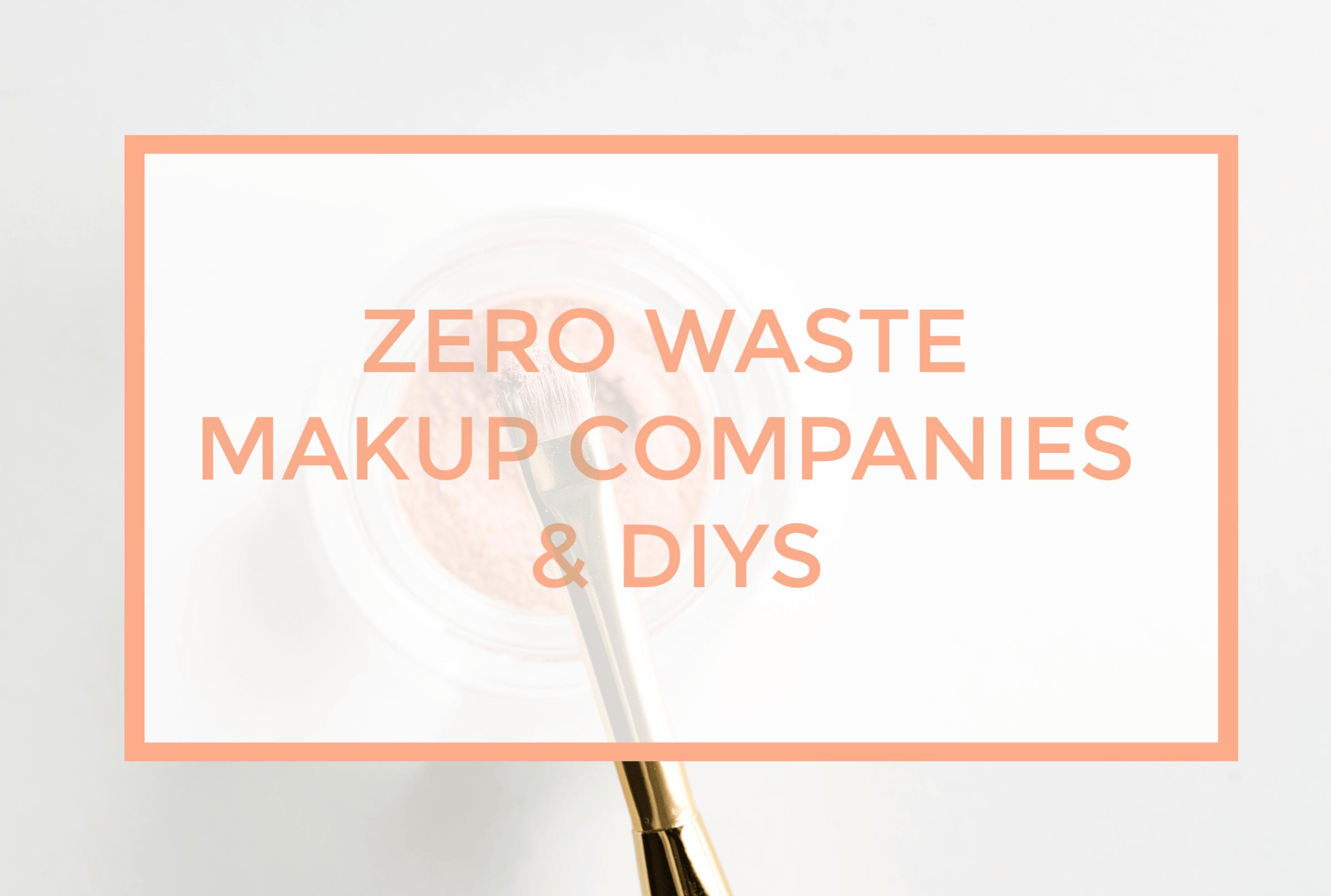 Pforwords My Zero Waste Makeup Routine 0.10 a Day
