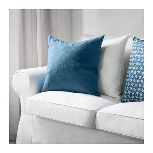 vigdis kissenbezug blau wohnzimmer inspiration pinterest kissen ikea und wohnzimmer. Black Bedroom Furniture Sets. Home Design Ideas