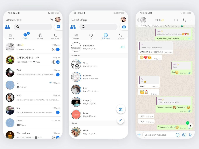 IOS Theme For YOWhatsApp & KM WhatsApp   Iphone style, Chat ...