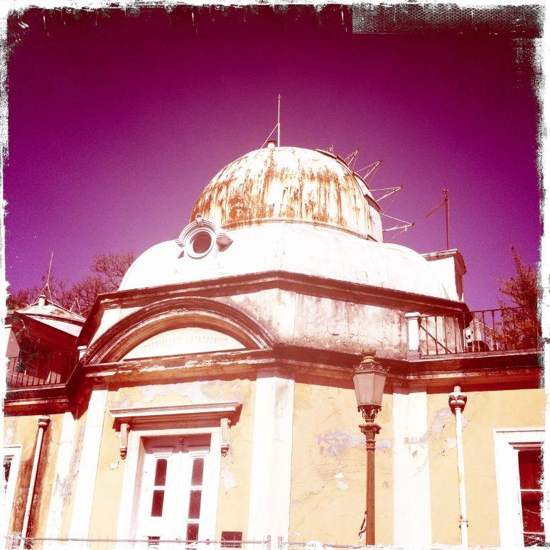 Rotten observatory in Lisboa