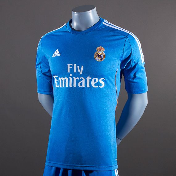 low priced bb71c 95a13 Soccer-Jerseys-adidas-Real-Madrid-13-14-Away-Replica-Short-Sleeve-Jersey-Replica-Apparel-Air-Force-BlueWhiteLight-Orange  SIZE XL  PDSMostWanted