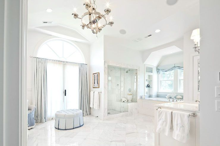 Markay Johnson Construction Bathrooms White Walls White Wall
