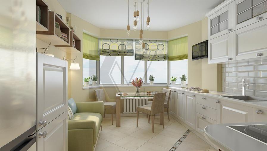 Дизайн квартир в домах п-44т