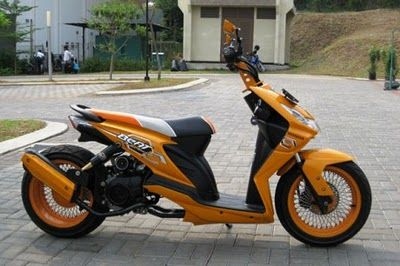 Honda Beat Modification Scooter Custom Yamaha Lowrider Bikers Scooters