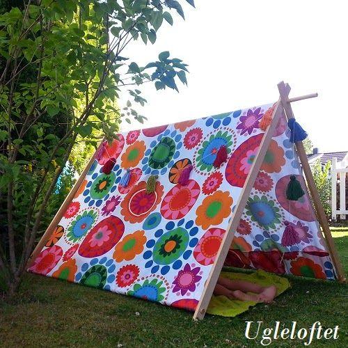 Ugleloftet: DIY - tent