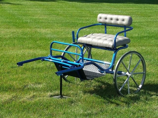 In Stock and On Sale! Superlite Mini Cart | Horse mini wagon carts