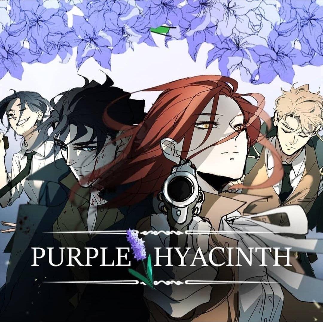 Purple Hyacinth on WebToon by Ephemerys and Sophism in