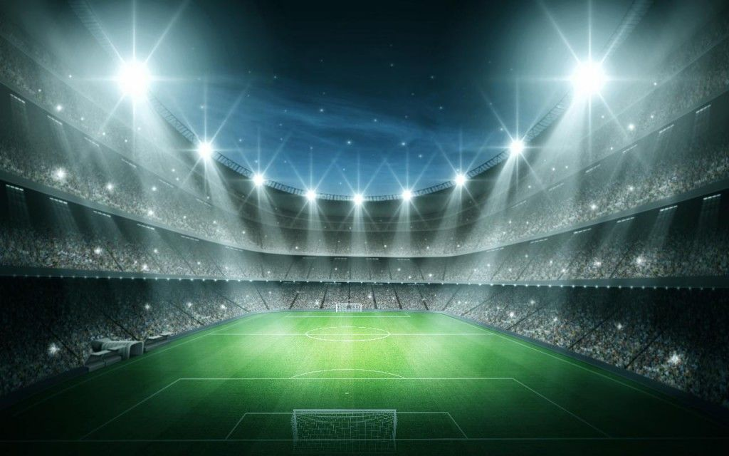 Kick Off Your Dream Holiday With Thomson Sport Wallpaper Walls Decor Stadium Wallpaper Led Flood Lights