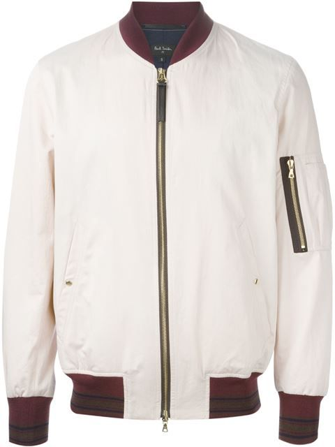 9b7f6cafa7c665 Shop Paul Smith classic bomber jacket in Fashion Clinic from the world's  best independent boutiques at farfetch.com. Over 1500 brands from 300  boutiques in ...