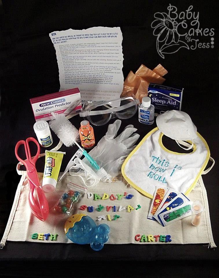 Daddy's Survival Kit. $35.00, via Etsy.