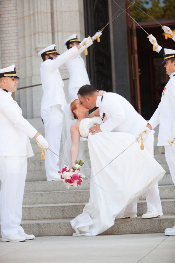Happy veterans day 19 photos of grooms in uniform for Free wedding dresses for military brides