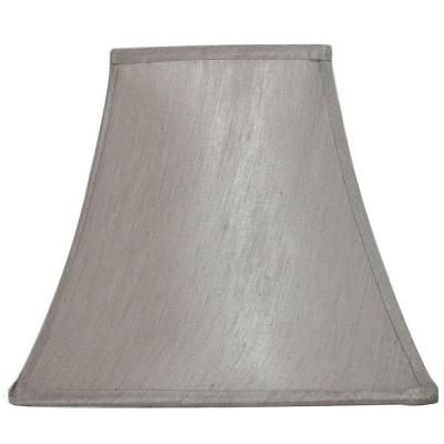 Home Depot Lamp Shades Hampton Bay Mix And Match Bavarian Grey Square Bell Table Lamp Shade