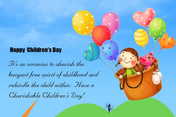 Happy Childrens Day 2016 Images, Quotes, SMS, Wishes ...