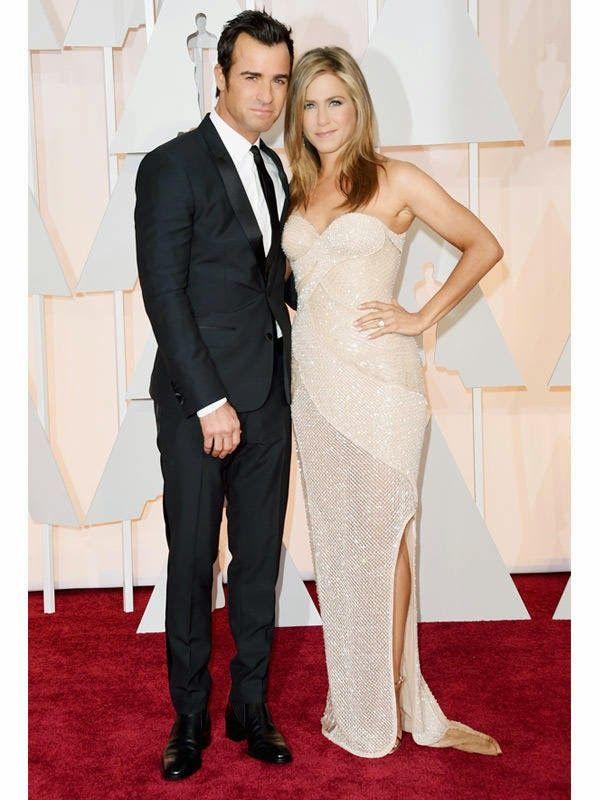 Jennifer Aniston Oscars 2015 Alfombra Roja