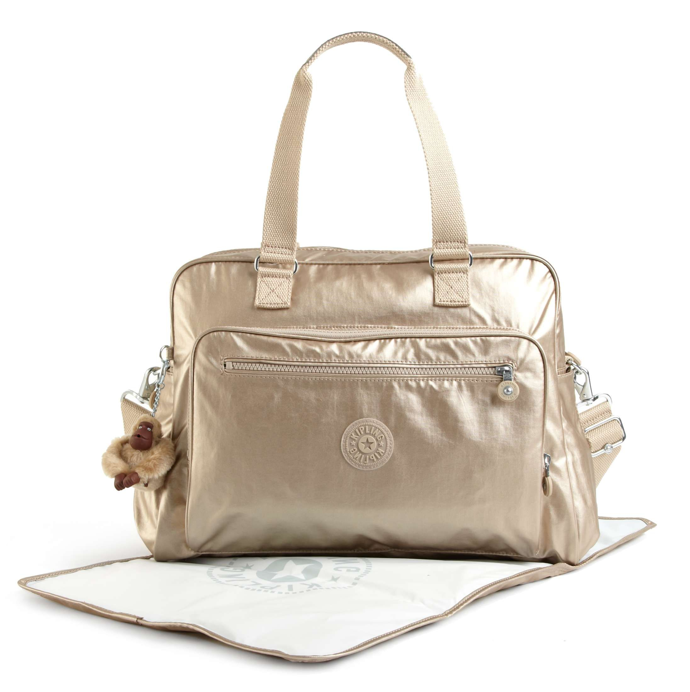 0c9c8246c Alanna Metallic Diaper Bag | Baby shower!!! | Bolsas kipling, Bolsa ...