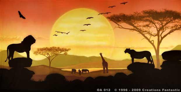 Backdrop OA 012 Savannah Sunset 4