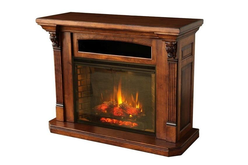 Wondrous Amish Serenity Electric Fireplace Entertainment Center In Interior Design Ideas Apansoteloinfo