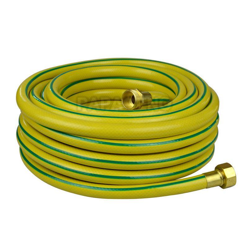 Description of crocheting garden hose for garden watering