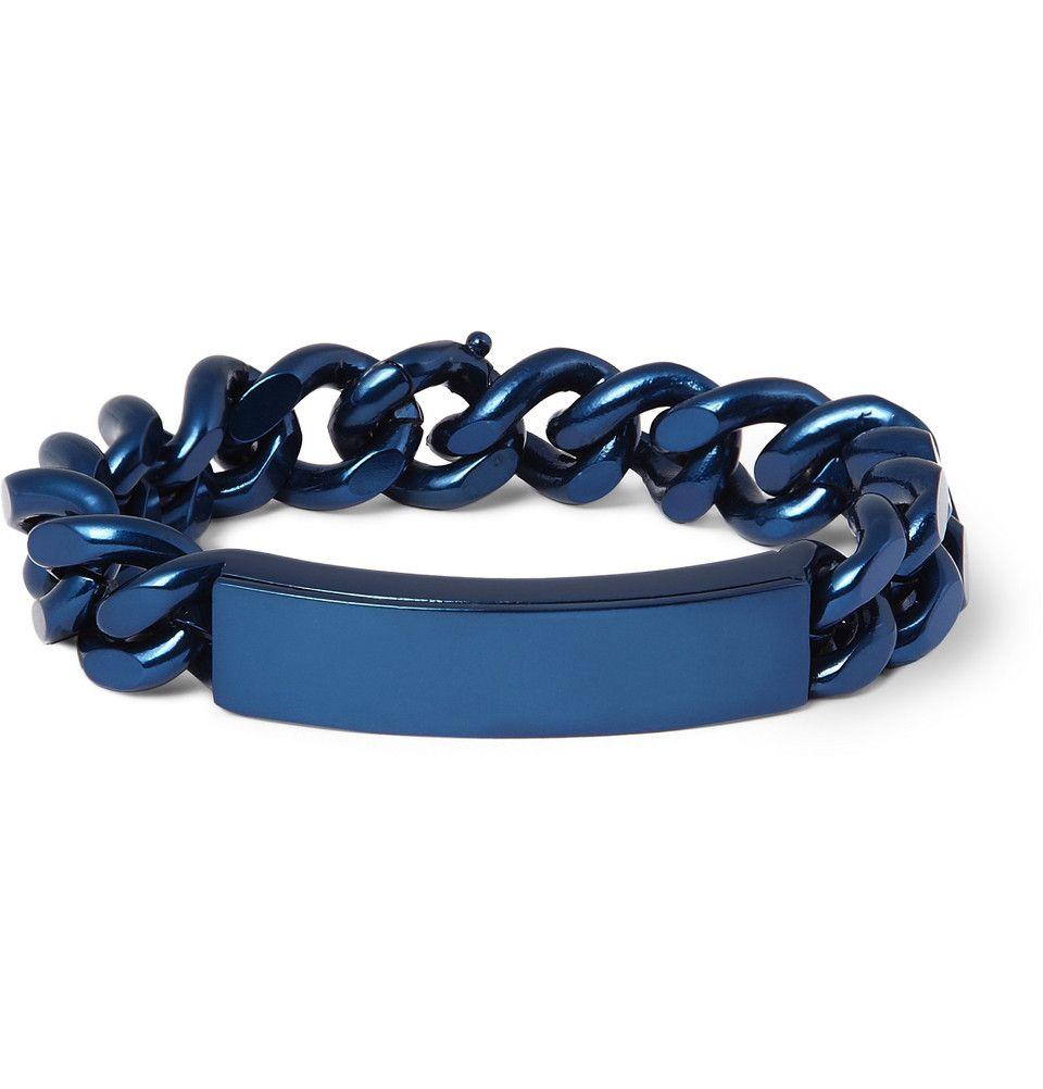 Maison Martin Margiela Br Id Bracelet With Concealed Compartment Mr Porter
