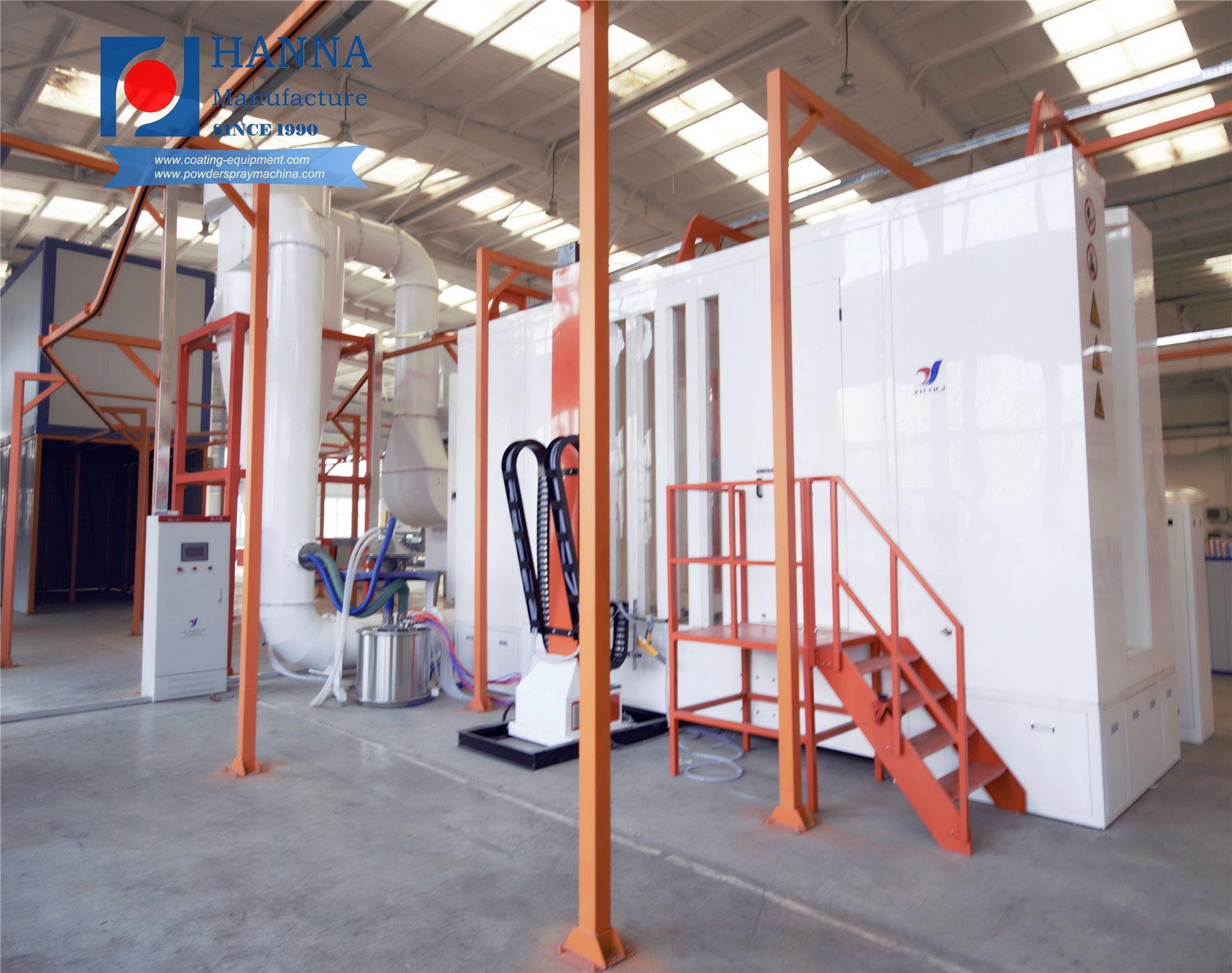 aluminium powder coating equipment Powder coating