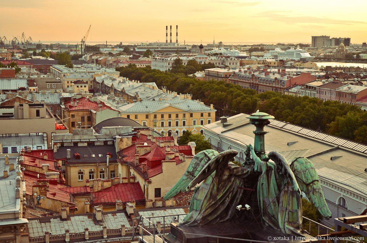 Petersburg chimney sweep Alexey