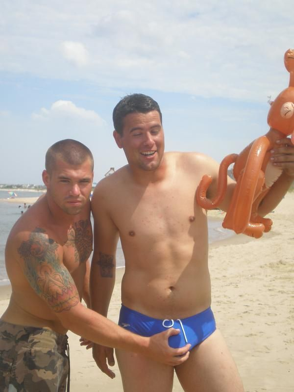 Erotic male beach
