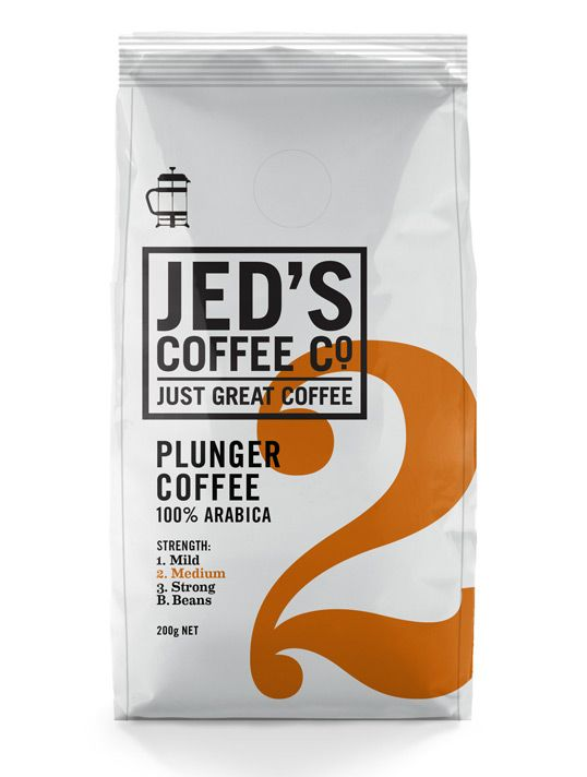Simple, classy, effective. #coffee #packaging