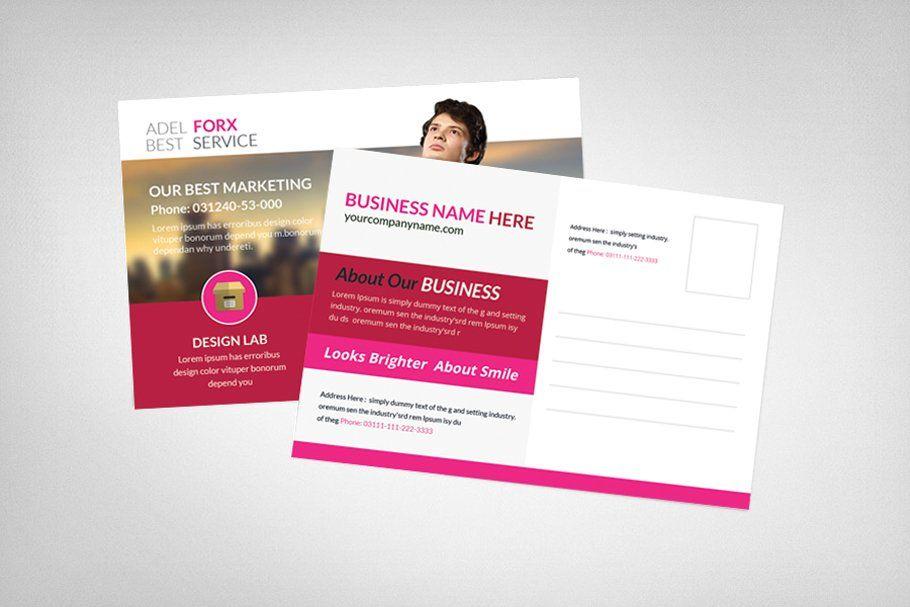 Marketing Postcard Template Torens