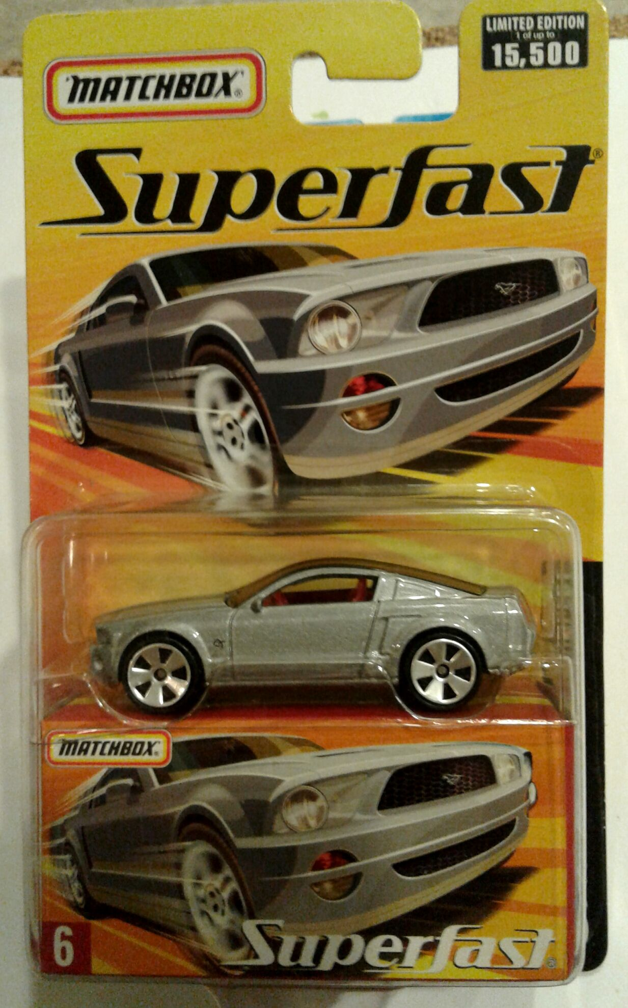 Matchbox Superfast Ford Mustang GT Concept Car *VHTF* PRICE: $8.00 ...
