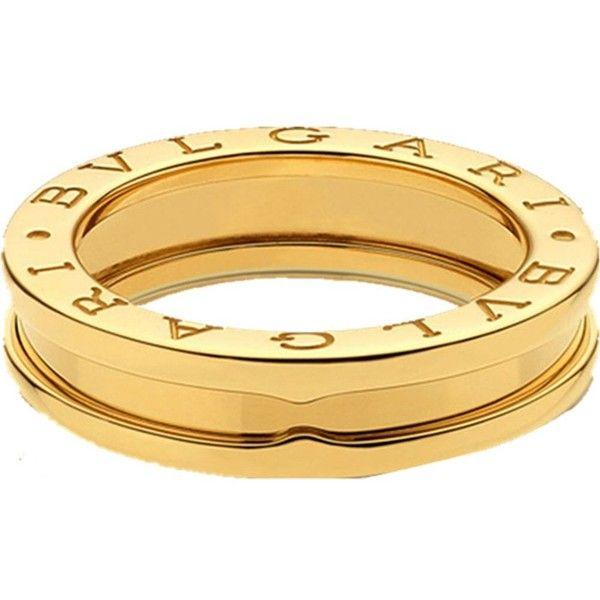 bvlgari bzero1 oneband 18ct yellowgold ring