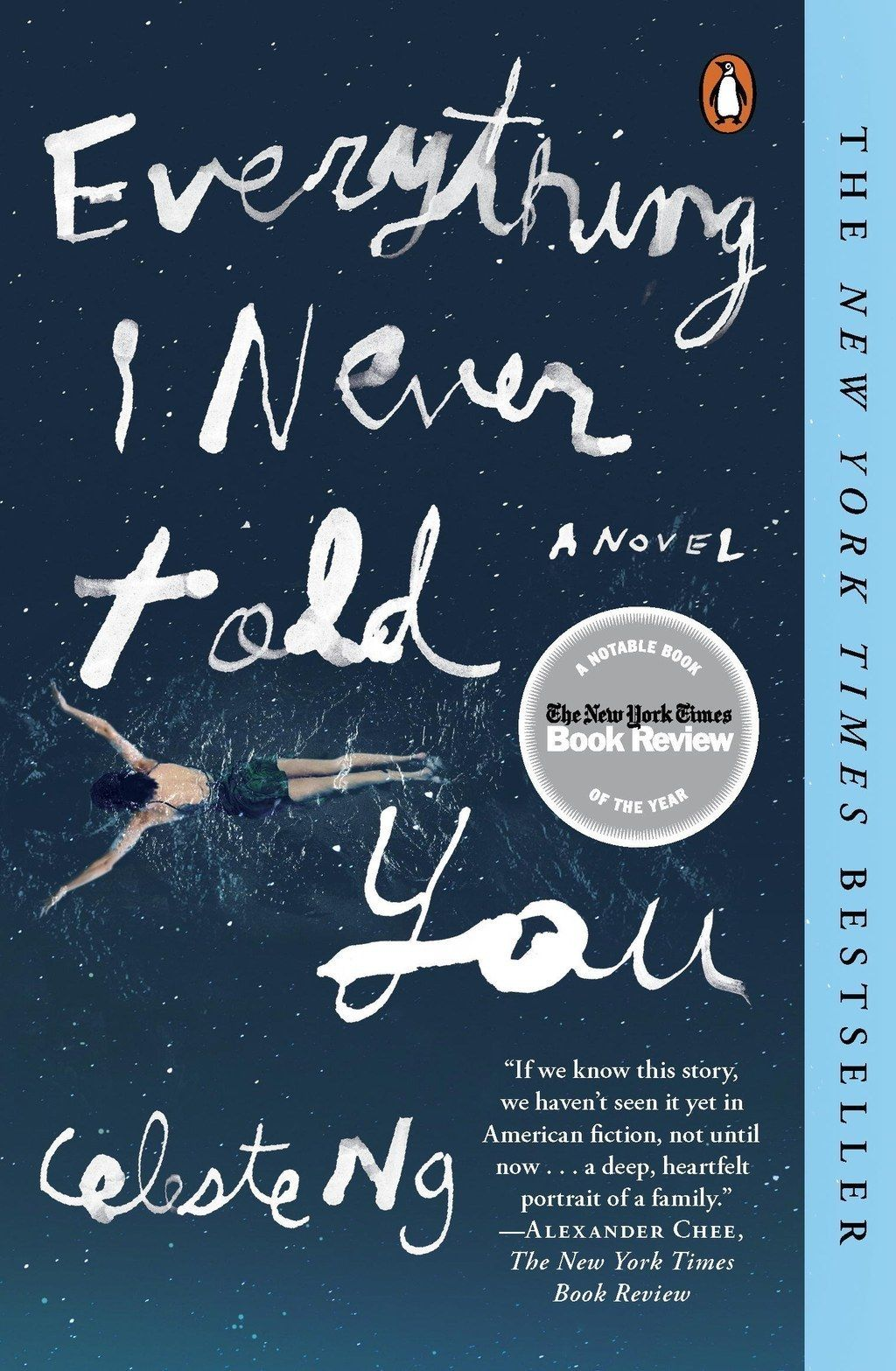"<i><a href=""http://amzn.to/1PPQ752"" target=""_blank"">Everything I Never Told You</a></i> by Celeste Ng"