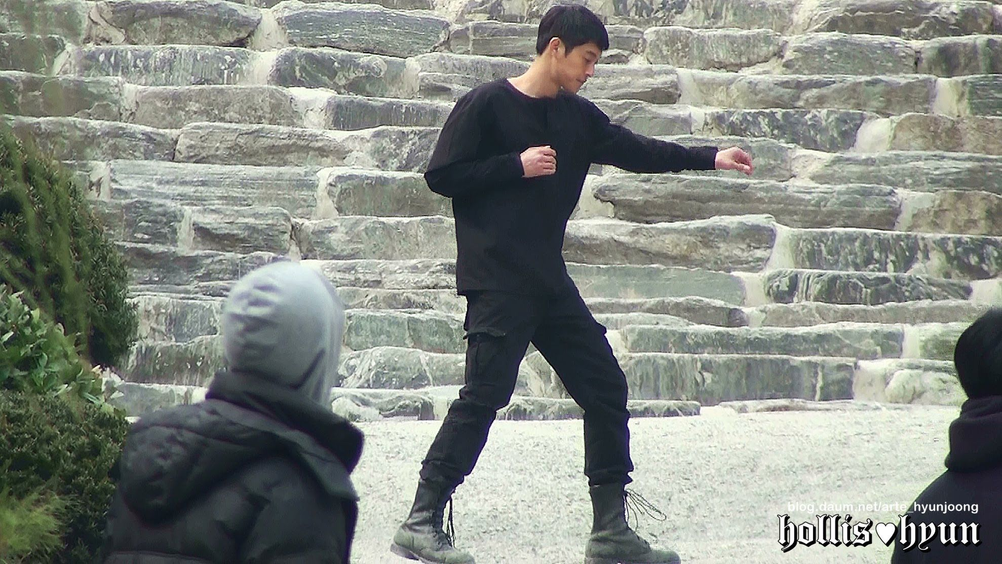 140304 Kim Hyun Joong 김현중 - 감격시대 Lovely Fighter Jungtae@Wawoo Temple/TIME 4:09 - POSTED 10APR2014 - 9Kviews please reshare it