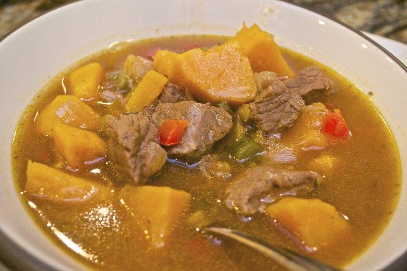 jamaican beef soup  jamaican beef pepper pot  a taste of
