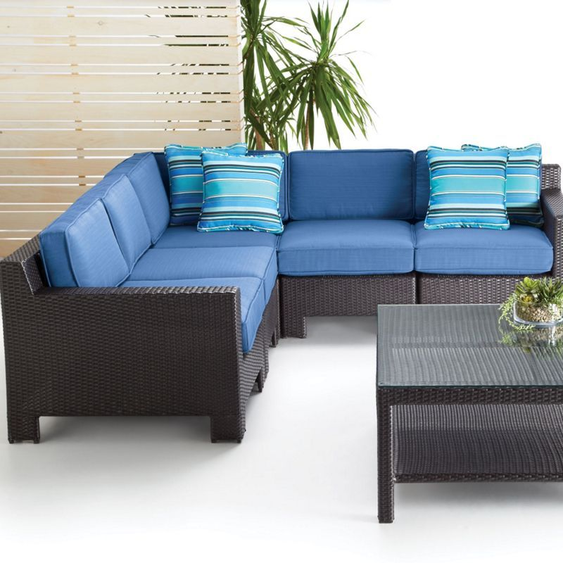 Leisure Design Manhattan Collection 5-Piece Sectional Sofa - Sears   Sears Canada  sc 1 st  Pinterest : sears canada sectional - Sectionals, Sofas & Couches
