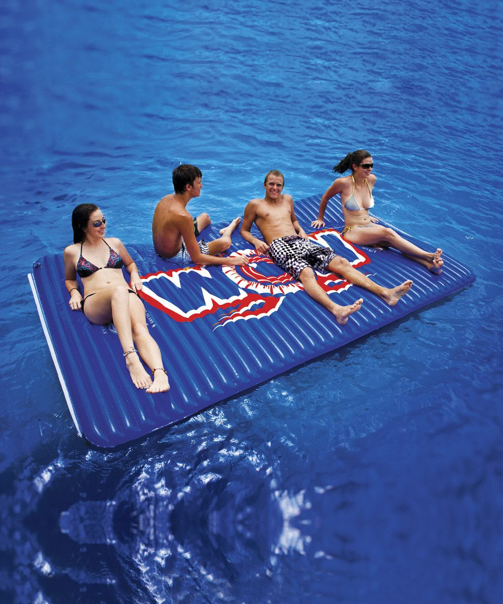 WOW World of Watersports Blue Water Walkway Mat Floating