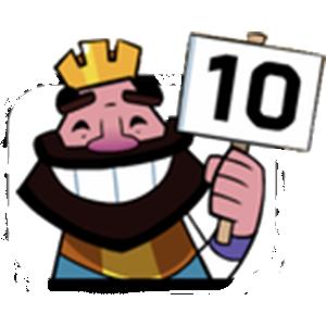 King New Emote Clash Royale Character Mario Characters