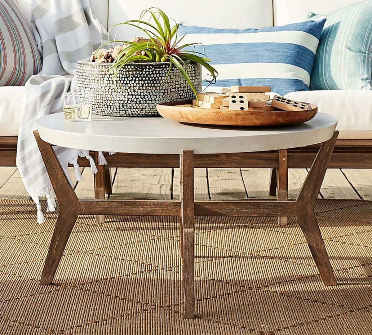 Raylan Outdoor Coffee Table Coffee table, Outdoor coffee