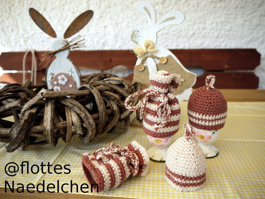 Damit der Ostertisch so richtig dekorativ wird, hier zwei ...