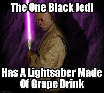 The black Jedi