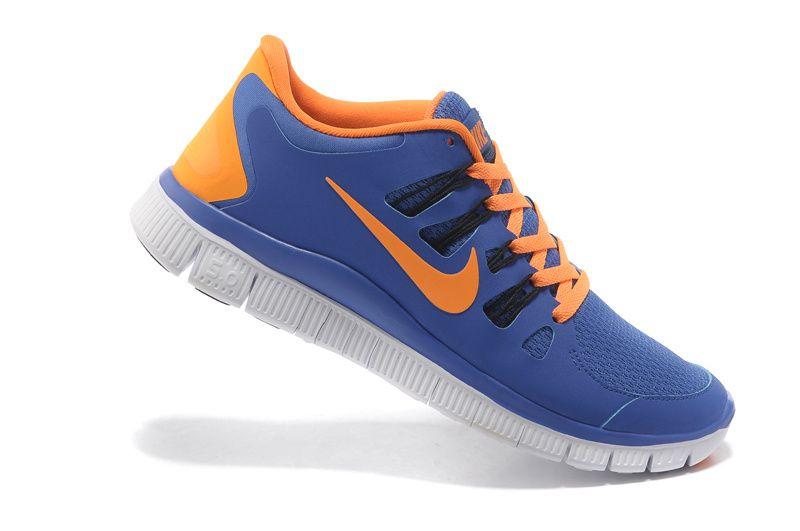 nike free 3.0 v3 run royalblau blau orange