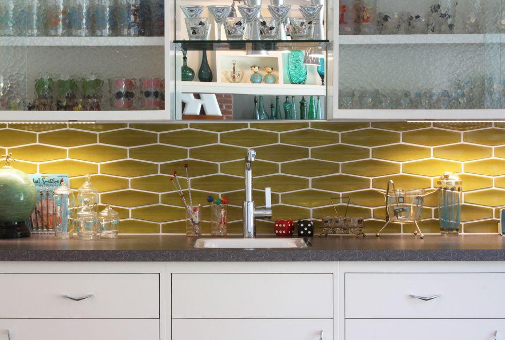 Hardware tiles kitchen ideas pinterest mid century modern kitchen mid century and mid - Modern kitchen tiles hd ...