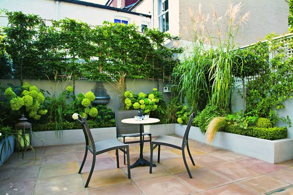 Schöne Kleine Gärten handbuch kleine gärten terrasse gartenideen kleine