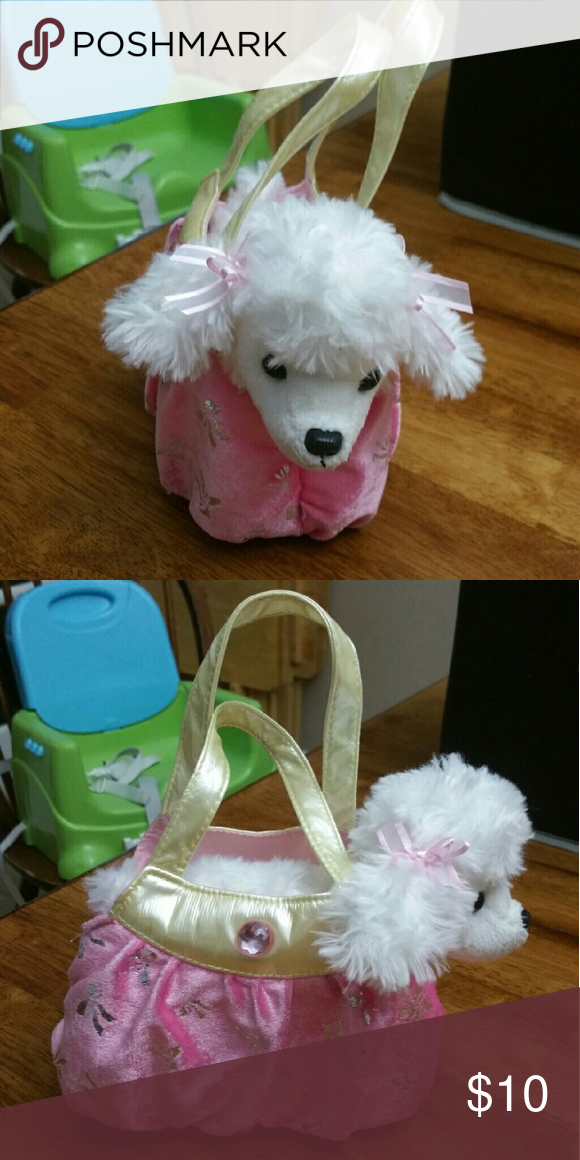 Puppy in a purse, like new! Like new, never played with Other