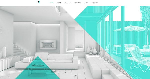Enthralling Website Designs Featuring Interior And Exterior