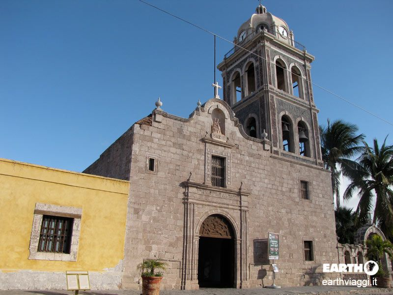 Chiesa di Nuestra Senora de Loreto, Baja California, #Messico